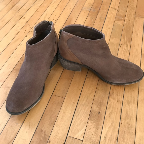 af82f7695ad Charles David Shoes - Charles David Nordstrom Two-Tone Brown Booties